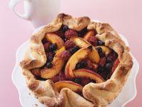 Nectarine and Berry Pie recipe