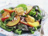 Nectarine and Camembert Salad recipe