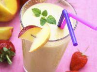 Nectarine Buttermilk Shake recipe