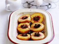 Nectarines with Star Anise recipe
