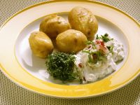 New Potatoes with Herbed Quark recipe
