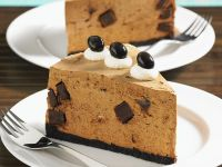 No-Bake Coffee Cheesecake recipe