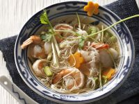 Noodle and Shrimp Broth recipe