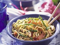 Noodle Bowl with Scallions recipe