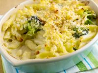 Noodle Broccoli Casserole recipe