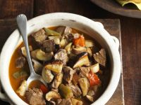 North African Lamb Stew with Olives recipe