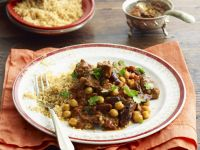 North African Stew with Couscous recipe