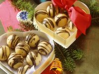 Nougat and Marzipan Balls recipe