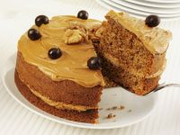 Nut and Coffee Sandwich Gateau recipe