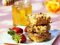 Nut and Honey Squares recipe
