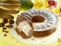Nutty Banana Circle Cake recipe