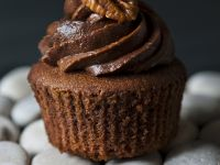 Nutty Chocolate Cupcakes recipe