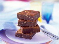 Nutty Cocoa Traybake recipe