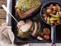 Nutty Lamb Roast recipe