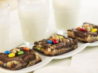 Nutty M&M Brownies recipe