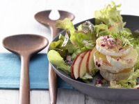 Oak Leaf Lettuce and Cress Salad