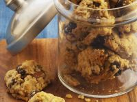 Oat and Cherry Biscuits recipe