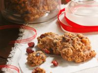 Oat and Cranberry Cookies recipe