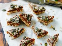 Oat and Seed Triangles recipe