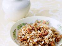 Oat and Walnut Porridge recipe