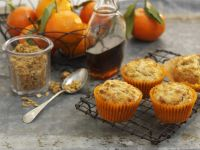 Oatmeal and Citrus Cakes recipe