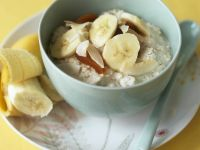 Oatmeal with Banana and Dried Fruit recipe