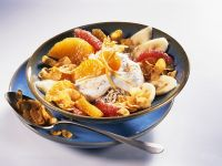 Oatmeal with Fruit and Quark recipe