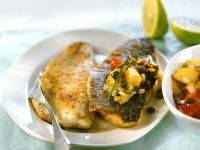 Ocean Catfish with Fried Potatoes recipe