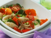 Octopus Salad with Tomatoes recipe