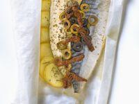 Oily Fish En Papillote recipe