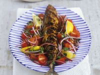 Oily Fish with Veggies recipe