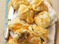 Olive and Cheese Puff Pastry Bundles recipe