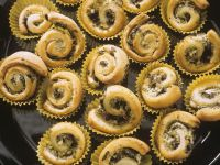 Olive and Feta Puff Pastry Pinwheels recipe