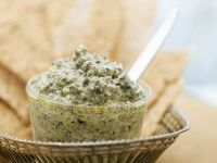 Olive and Goat Cheese Pesto recipe