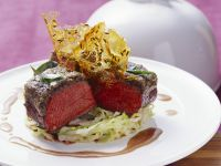Olive-crusted Venison Loin recipe