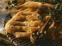 Olive Flat Bread recipe