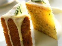 Olive Oil, Lemon and Rosemary Cake