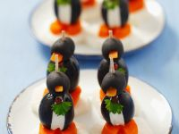 Olive Penguins for Children recipe