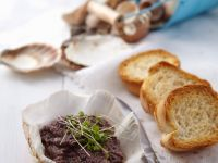 Olive Spread with Toasts recipe