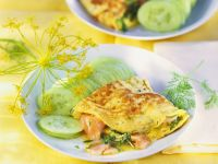 Omelet with Smoked Salmon recipe