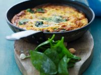 Omelet with Spinach recipe