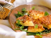 Omelette with Ham and Fresh Herbs recipe