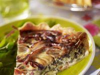 Onion and Cream Cheese Tart recipe