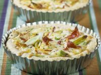 Egg and Leek Tarts recipe