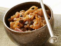 Onion and Raisin Compote recipe