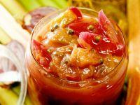 Onion and Rhubarb Chutney recipe