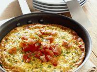 Onion and Tomato Frittata recipe