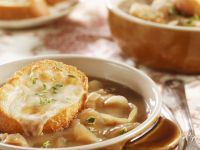 Onion Soup with Cheese Bread recipe