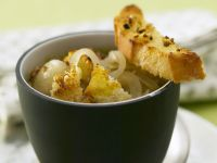 Onion Soup with Croutons recipe