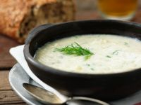 Onion Soup with Dill recipe